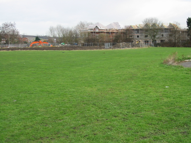 The new development of Kingsbrook Park