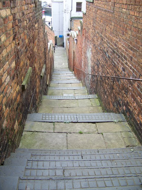 Custom House Steps, Scarborough