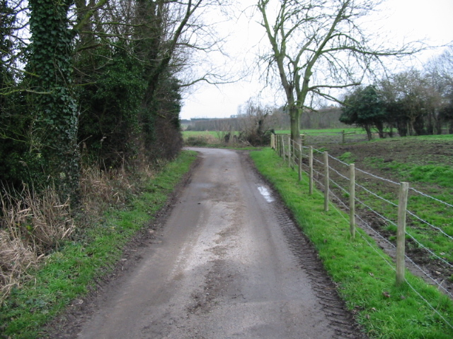 Public footpath but private road