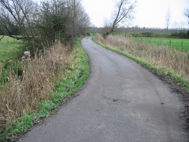 View along private road towards Sparrow Castle