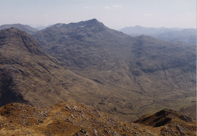 View south east from Luinne Bheinn