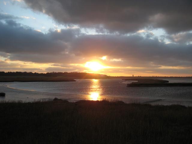 Blyth river sunset