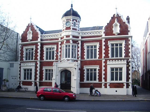Building, Kensington High Street