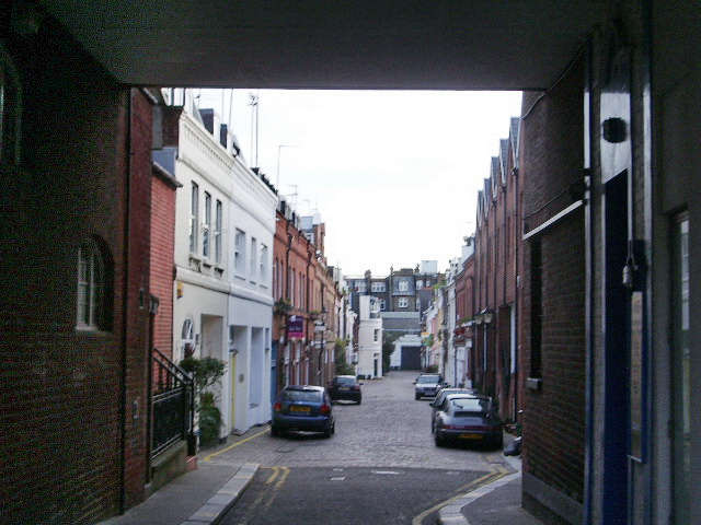 Adam and Eve Mews, London W8