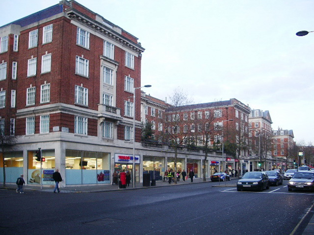 Tesco's on Kensington High Street, W8