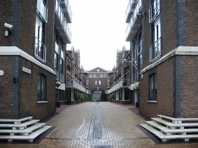 Cinnamon Row, Battersea SW11