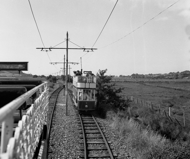 Tram at Colyford