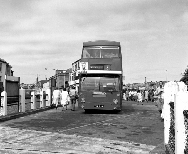 St. Ives bus station
