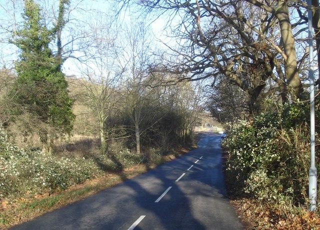 Lane at Malvern Wells