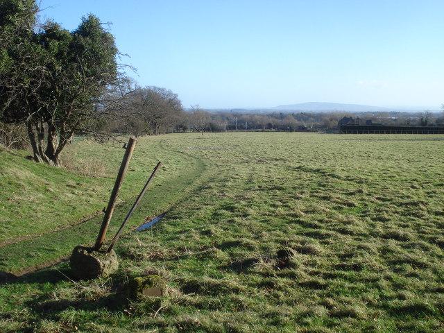 Footpath near Malvern Wells