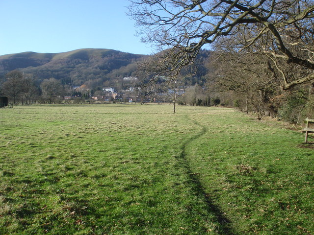 Footpath to Malvern Wells