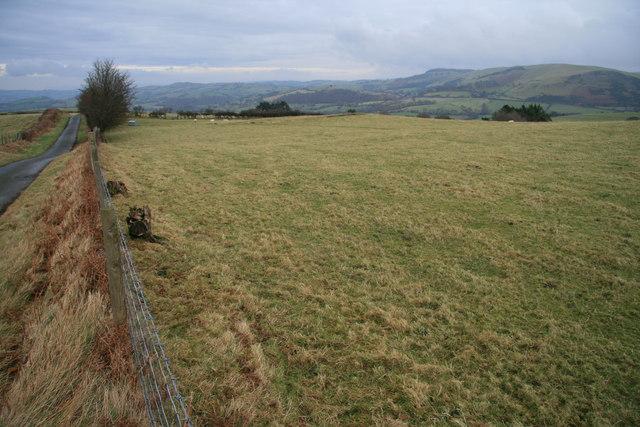 Pastureland north-east of Gwrhyd