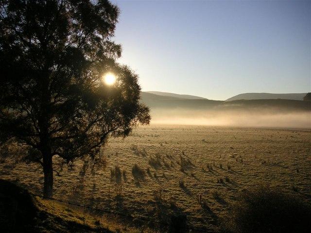 Mist over the Findhorn