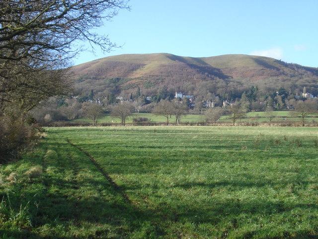 Bridleway to Malvern Wells
