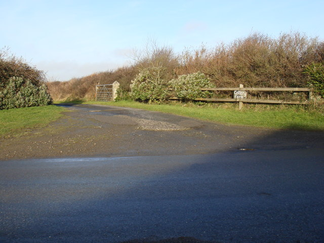 Entrance To Collery Farm near Stibb, Cornwall