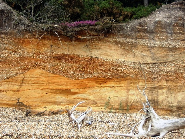 Stansood Bay Cliff Formation