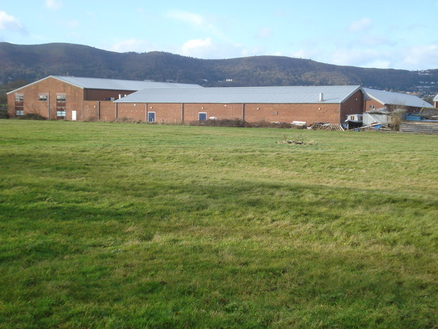 Old army camp near Hanley Swan