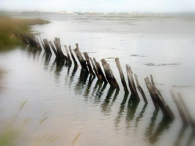 Old Sea Defences