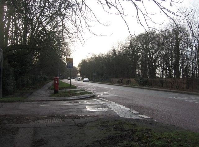 Trumpington Road, A1134