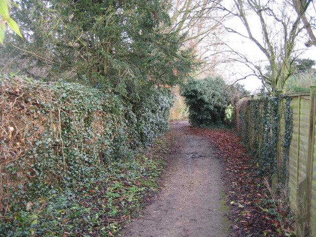 Private Footpath