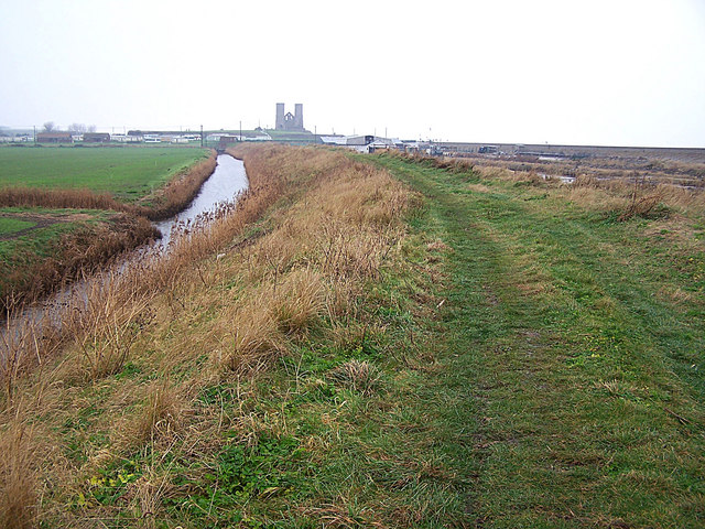 Rushbourne Sea Wall, Reculver