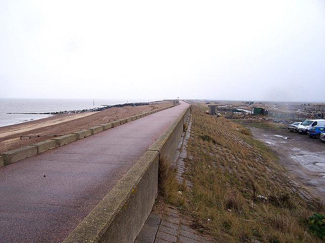 Northern Sea Wall, Reculver