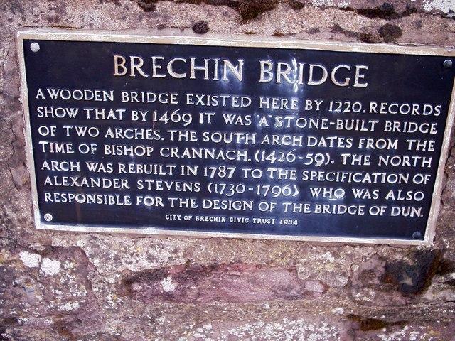 History of Brechin Bridge