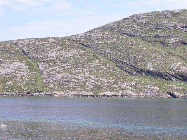 Across Vatersay Sound to Barra