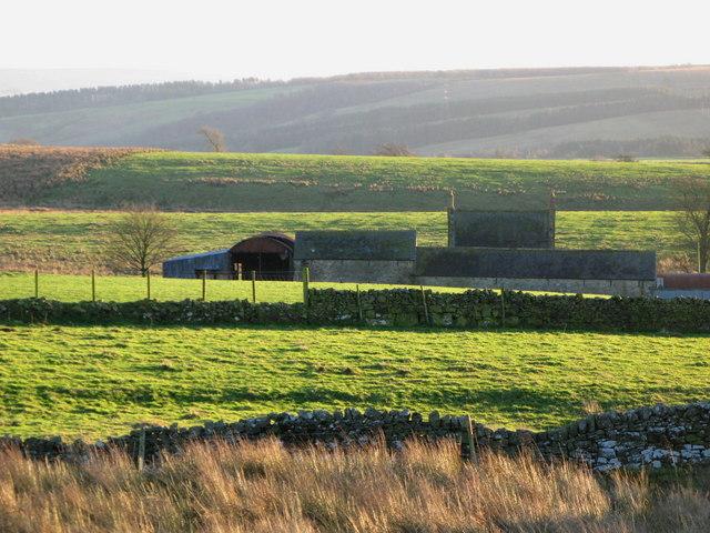 Pastures near War Carr