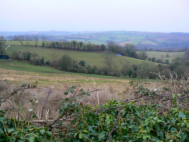 A view south-west from the Old Midford Road, near Midford