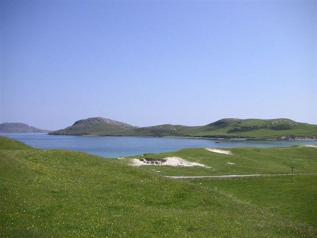 Bàgh Bhatarsaigh from the dunes, Vatersay