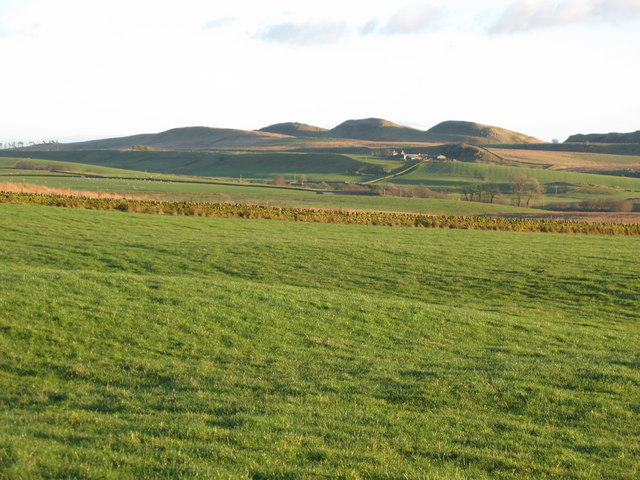 Pastures east of War Carr