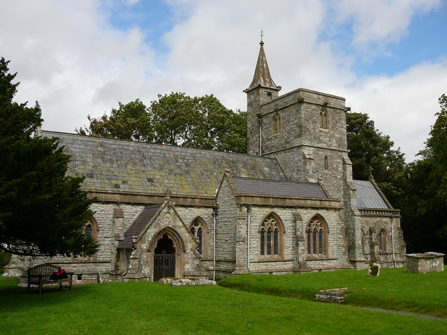 The church of St Mary the Virgin, Kingston  Deverill