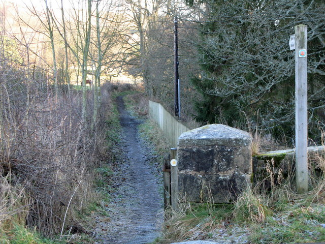 Footpath to Allendale Town