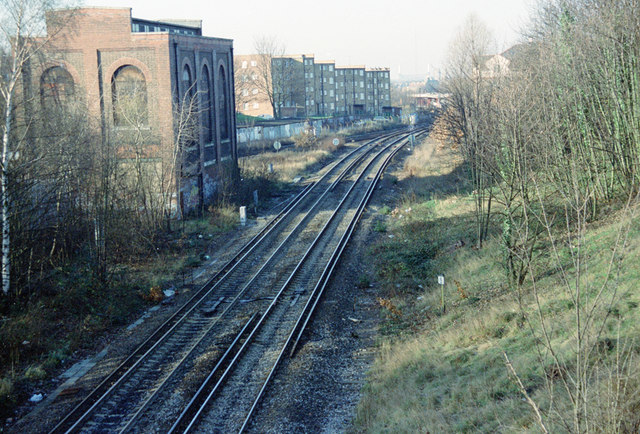 The Railway towards Nunhead