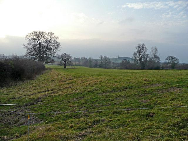Pasture land south of Eardiston