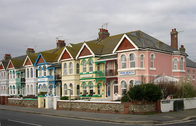 Colourful Guest Houses, Worthing, West Sussex