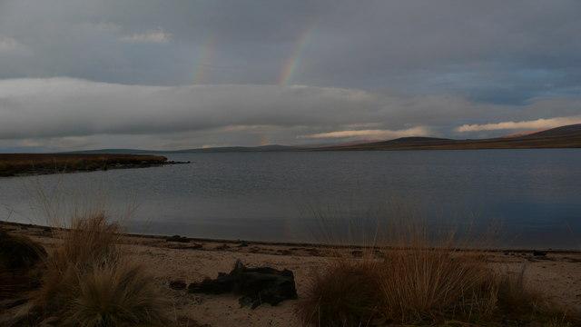 Boat Bay on Loch Badanloch