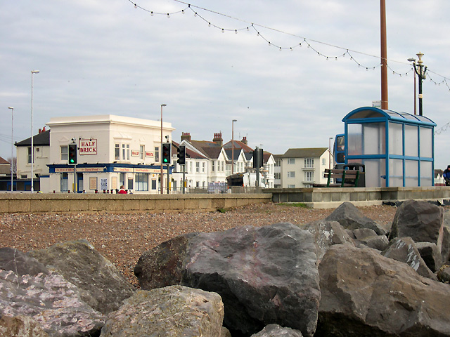 Beach and Seafront, Worthing, West Sussex