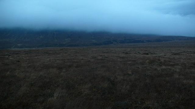 Moorland looking to Beinn a' Mhadaidh