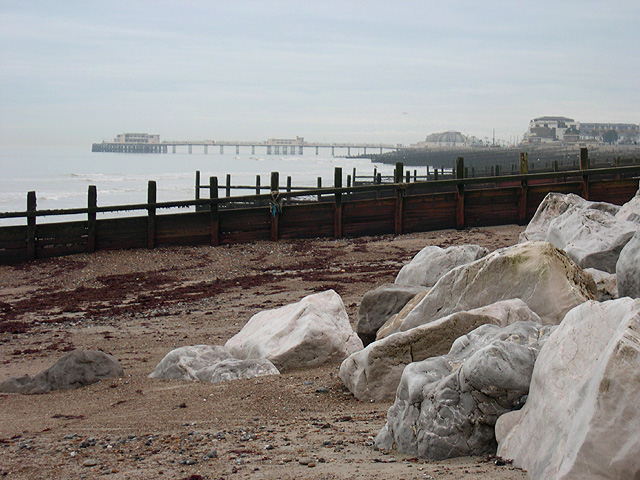 Beach Defences, Worthing, West Sussex