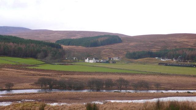 Altnaharra from the Loch Naver Road