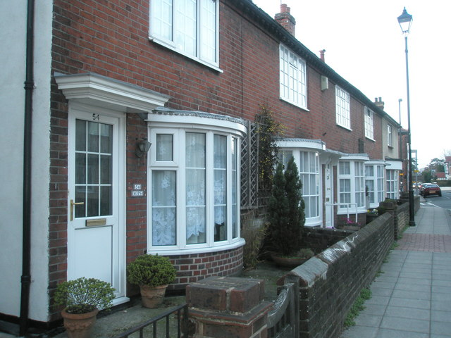 Houses in North Street