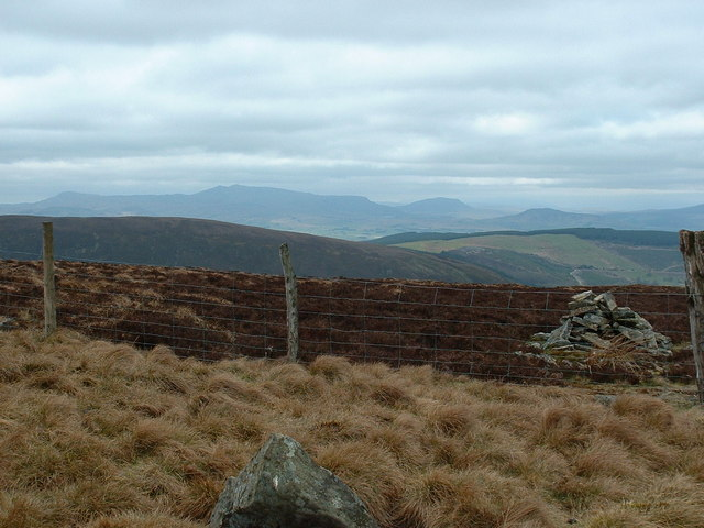 The Arenigs from Pen y Boncyn Trefeilw