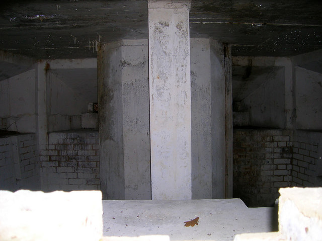 Inside Pillbox A111, Old Lodge Warren