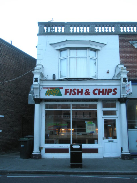 Fish and chip shop in North Street