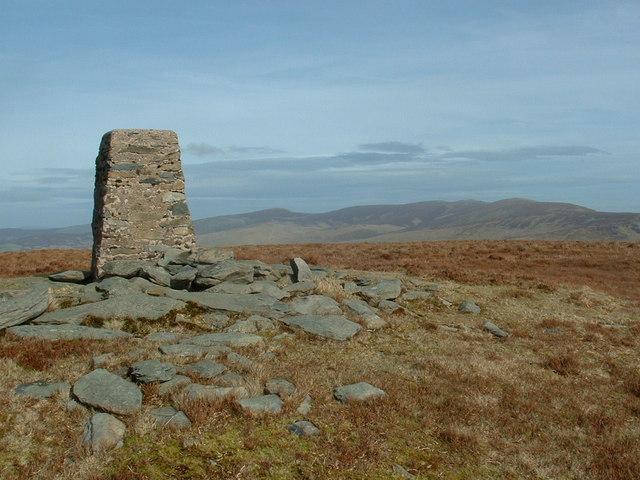 The Berwyns from Foel Cwm Sian Llwyd