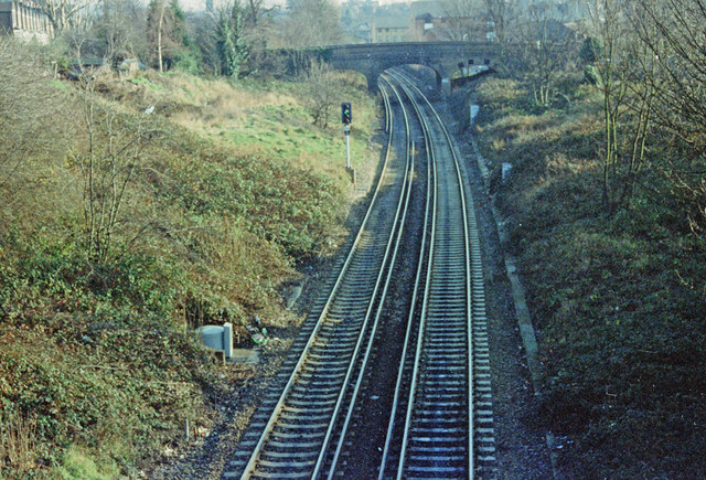 The Railway towards Lewisham