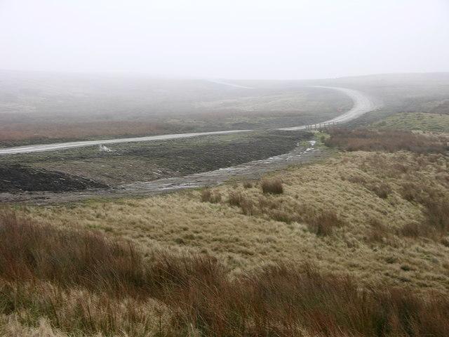 Mist over Cowpe Moss