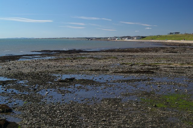 Low tide at Arbroath